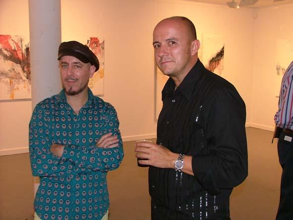 Pedro Castrortega y Juan Pablo