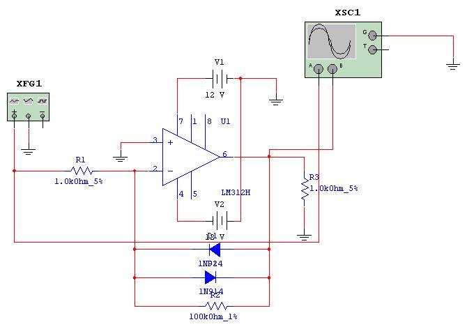 Circuito Recortador : Electronica ii t p nº quot aplicaciones no lineales de los