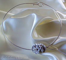 In Bloom Crochet Wire Wrap Bridal Collar
