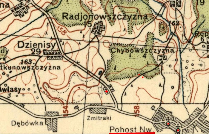 Polish map, 1939