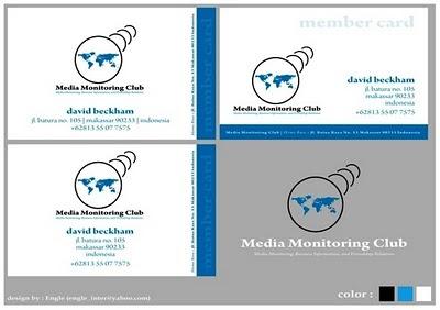 Kartu Anggota Media Monitoring Club