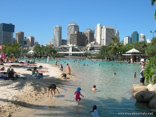 Brisbane Australia  city photo : 97345 south bank artificial beach brisbane australia