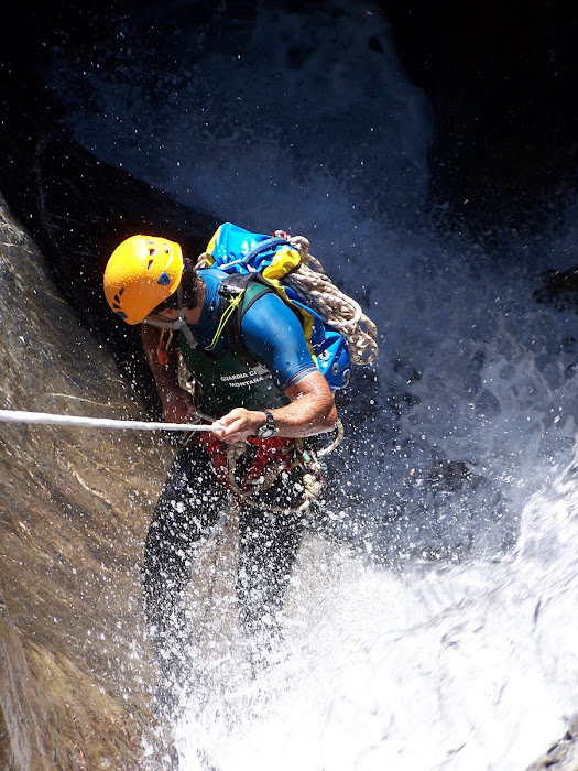 Canyoneering in Spain