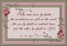 Every Man Lives by faith
