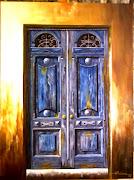 Velha porta azul