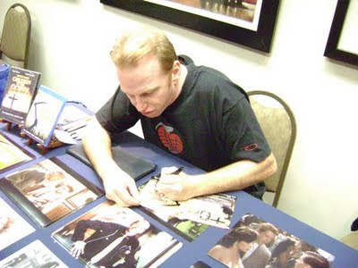 Courtney Gains Signing Susan's Children of the Corn DVD