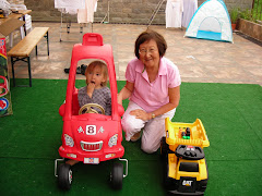Keohi, Grandma, and His Wheels