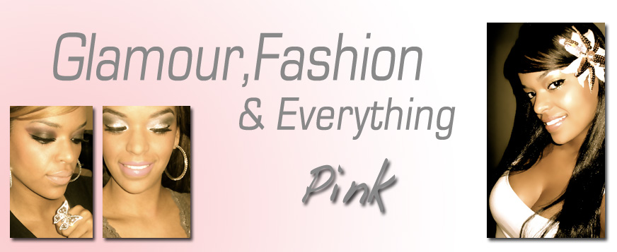 Glamour + Fashion & everything pink