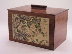 Boston Harbor 1776 Cherry Tea Box