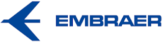 Embraer logo aviation industry Brazil
