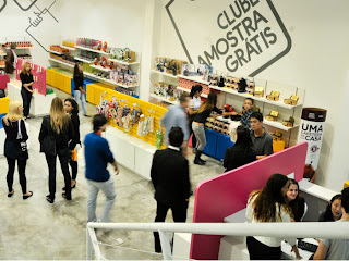 Image of the free sample store(clube amostra gratis)