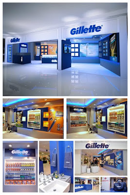The Gilette concept store in campo jordao sao paulo of proctor and gamble