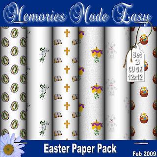 Mega Easter Paper Packs MME_Paper_EasterSet3_PREVIEW