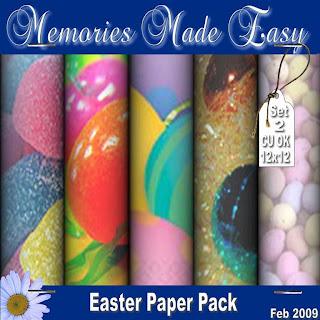 Mega Easter Paper Packs MME_Paper_EasterSet2_PREVIEW