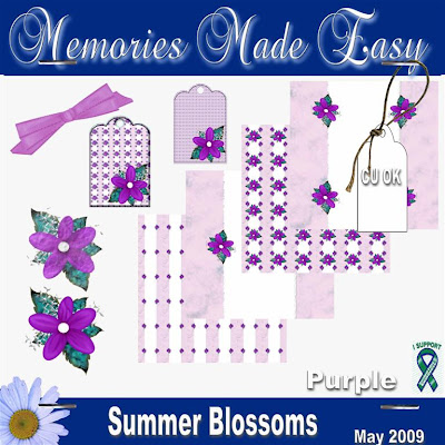 Summer Blossoms - Purple Mini Kit (CU OK) MME_SummerBlossomsPurple_PREVIEW