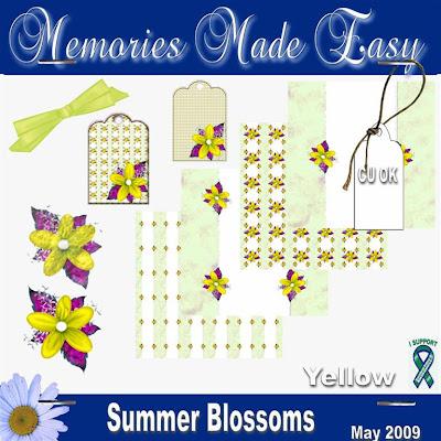 http://ladyshannonmemoriesmadeeasy.blogspot.com/2009/05/summer-blossoms-yellow-mini-kit-cu-ok.html