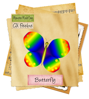 Rainbow Butterfly (Memories Made Easy) Butterfly_Preview