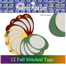 http://ladyshannonmemoriesmadeeasy.blogspot.com/2009/09/stitched-fall-tags.html