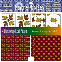 http://ladyshannonmemoriesmadeeasy.blogspot.com/2009/09/leaf-patterns-pat-images.html