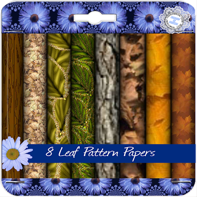 http://ladyshannonmemoriesmadeeasy.blogspot.com/2009/09/8-leaf-papers-12x12.html