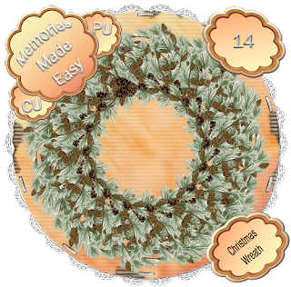 http://ladyshannonmemoriesmadeeasy.blogspot.com/2009/11/christmas-wreaths-13-15-cu-ok.html