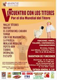 V Encuentro con los Títeres 2008