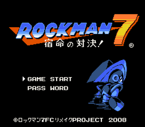 Megaman 7 [Version NES] [Portable]