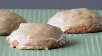 Pumpkin Cookies with Spiced Pumpkin Icing