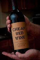 cheap red wine