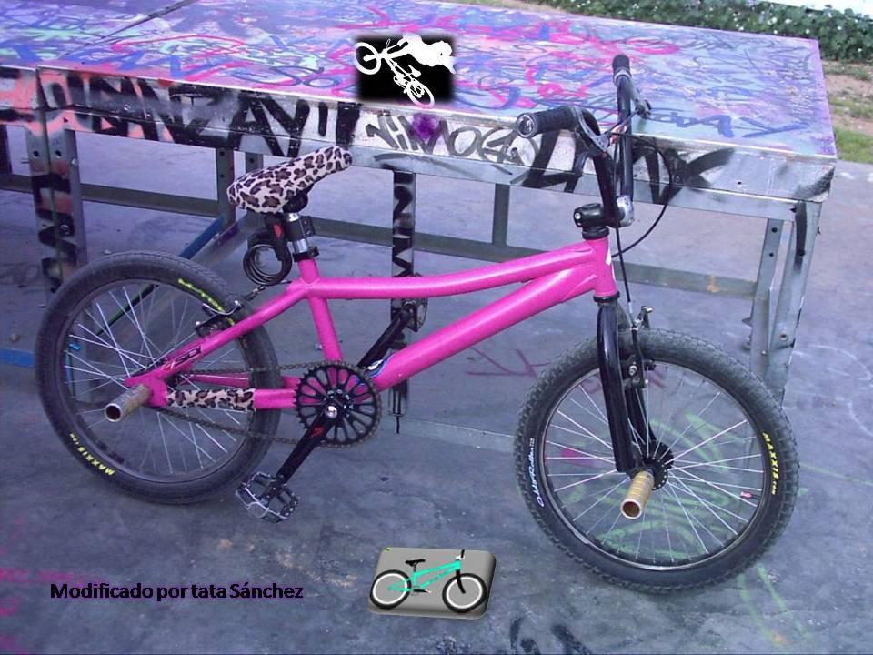 BMX Y FLATLAND: Características de las bicicletas de BMX
