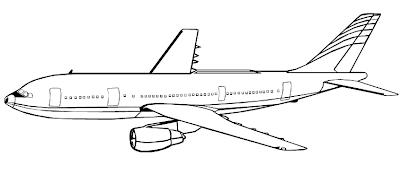 tudo aqui online pro: Avião para Pintar e imprimir