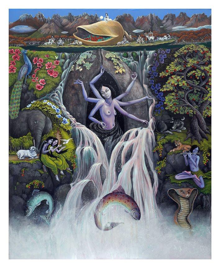 Viviana Torres Curth Galeria de obras: Paisaje Mistico III