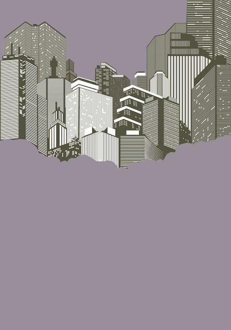 Random City Skyline