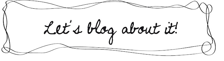 Let's blog about it!