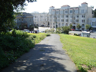 Bueno Vista Park on Haight Street