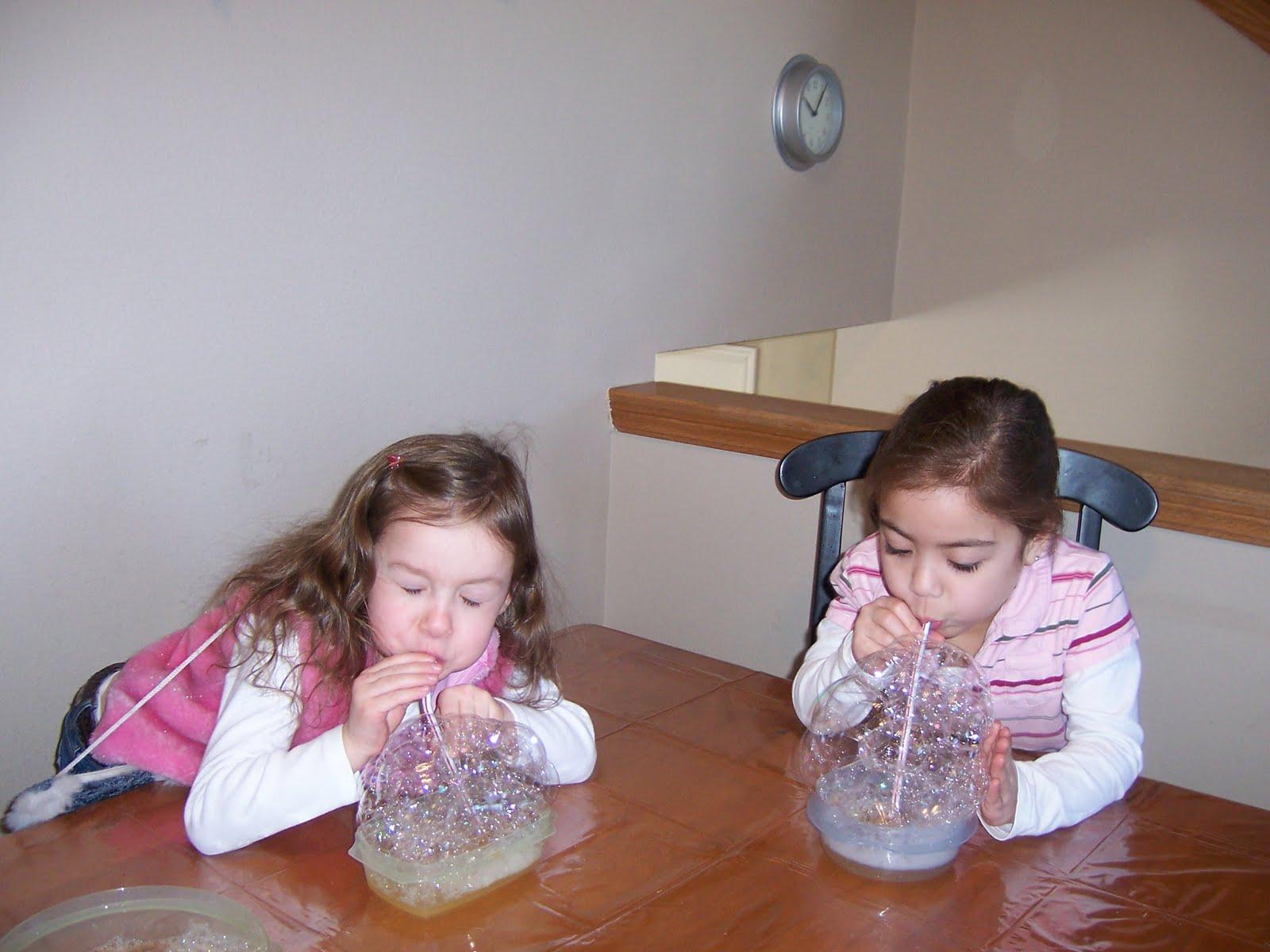 Как сделать шоу мыльных пузырей в домашних условиях 52