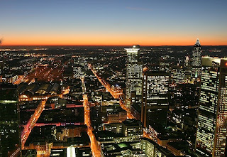 frankfurt at the night