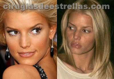 Jessica Simpson antes y despues