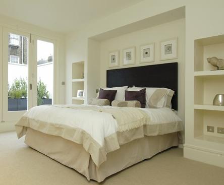 Hjemmets gleder: sov godt i hvitt