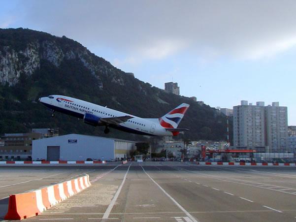 El aeropuerto de Gibraltar