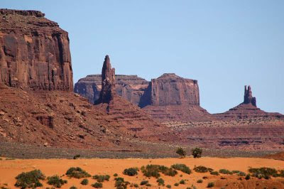 incredible views of Monument Valley