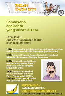 Komik Kampanye Damai Pemilu Indonesia - halaman 6