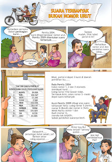 Komik Kampanye Damai Pemilu Indonesia - halaman 2