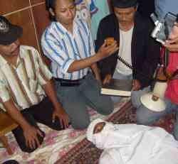 Rizal Abdilah Disumpah Pocong