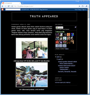 Screenshot Toughlane.blogspot