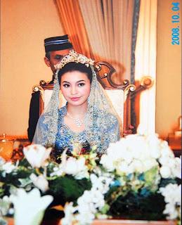 Manohara di pesta pernikahannya