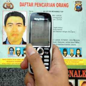 Foto Noordin M Top Yang DIsebarkan Oleh Pihak Kepolisian