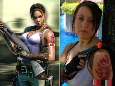 Gaming Tattoo Inspiration: Resident Evil 5 Gaming Tattoo