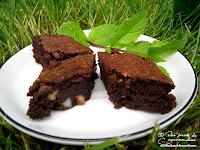 recette brownie chocolat noix du bresil cannelle