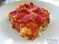 Lasagne brousse tomate courgette recette